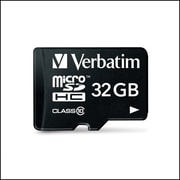Verbatim® 32GB microSDHC Card (Class 10) with Adapter