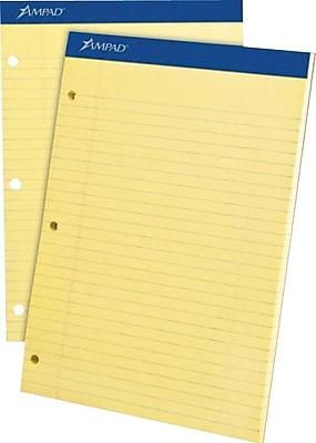Ampad® Dual-Pad Notepad, 8-1/2