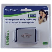 Optex Replacement Battery for Canon Digital Cameras using Battery Model NB-5L
