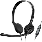 Sennheiser PC36 Call Control Over The Head VoIP Headset with InIine 3-in-1 Control
