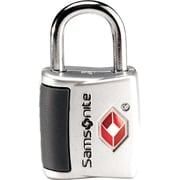 Samsonite Travel Sentry Key Lock, Silver, 2/Pack