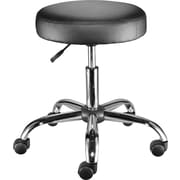 Staples Luxura Office Stool, Black