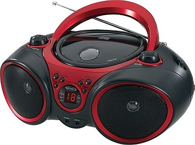 Jensen Portable Stereo Compact Disc Player With AM/FM Stereo Radio