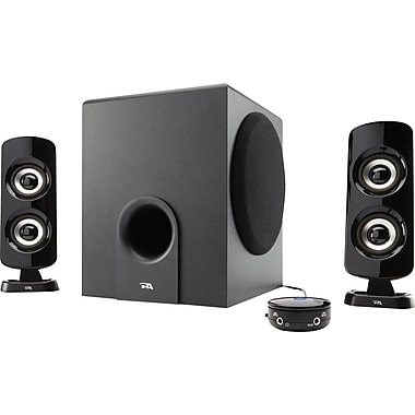 Cyber Acoustics CA-3614 26 Powered Speaker System with Control Pod