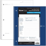 "Tops FocusNotes Notebook, 11"" x 9"", White, 100 Pages, Bilingual"