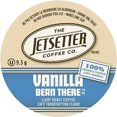 Jetsetter Coffee Co. – Café Vanilla Bean ThereMC, portions individuelles, 18/pqt.