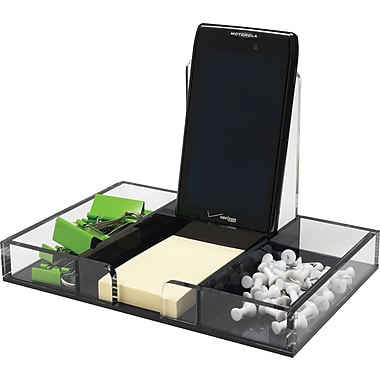 Staples® Acrylic Desk Organizer