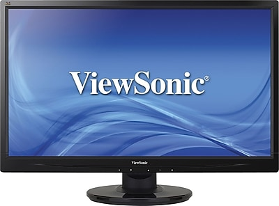 "ViewSonic - 23.6"" LED HD Monitor - Black VA2446M-LED"
