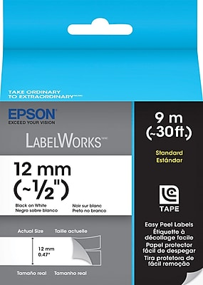 LabelWorks Standard LC Tape Cartridge, 1/2