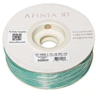 Afinia 1.75 mm Value-Line Colour Changing ABS Filament