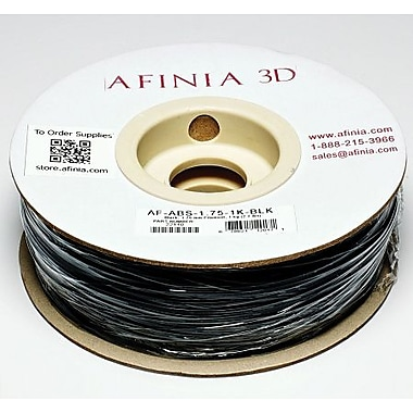 Afinia 1.75 mm Value-Line Black ABS Filament