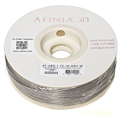 Afinia - Filament ABS Value-Line de 1,75 mm de couleur changeante - Gris à blanc