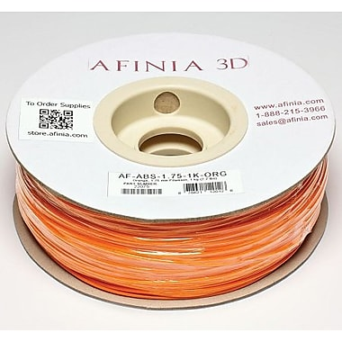 Afinia 1.75 mm Value-Line Orange ABS Filament