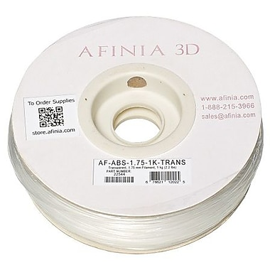 Afinia - Filament ABS Value-Line transparent de 1,75 mm