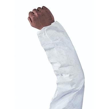 Keystone – Manchons jetables en polypropylène Keyguard, blanc, 18 po, 200/boîte