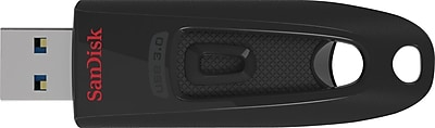 SanDisk Ultra SDCZ48-016G-A46 16GB USB 3.0 Flash Drive, Black/Red