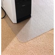 Floortex™ AntiStatic PVC Chairmats, Standard Pile Carpet, Rectangle