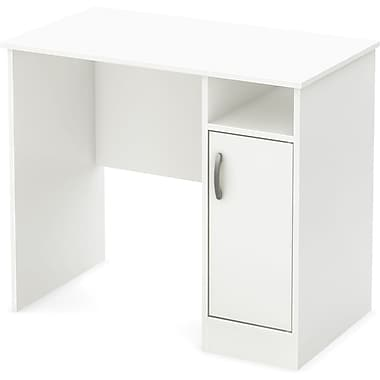 South Shore – Bureau compact Axess, blanc