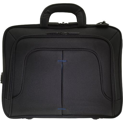 342412c3db09 Eco Style Tech Pro Blue EVA Nylon Top Load Checkpoint Friendly ...