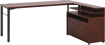 HON Manage L-Workstation, Desk, File Center, Stadium File, 60