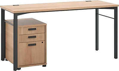HON Manage Table Desk, Pedestal, 60