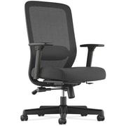 HON Exposure Mesh High-Back Task Chair, Synchro-Tilt, Lumbar, Seat Glide, 2-Way Arms, Black Fabric NEXT2018 NEXT2Day