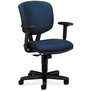 "HON Volt® Synchro-Tilt Mid-Back Task Chair, Fabric, Navy, Seat: 19 1/4""W x 25 3/4""D, Back: 17 1/2""W x 18 1/2""H NEXT2017"