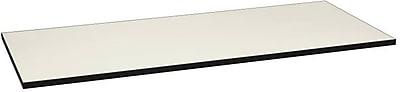 HON Huddle Table Top, Rectangle, Flat Edge, 72