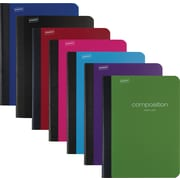 Staples® Poly Composition Notebook, Wide Ruled