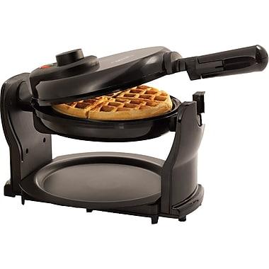 BELLA® Rotating Waffle Maker, Black