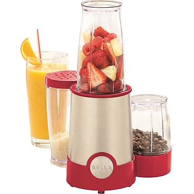 BELLA® 12 Piece Rocket Blender, Red