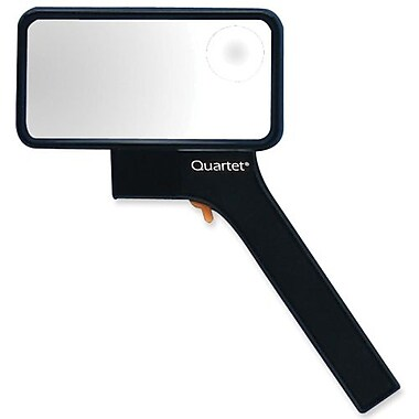 Quartet® Lighted Rectangular Magnifier with Bifocal Insert
