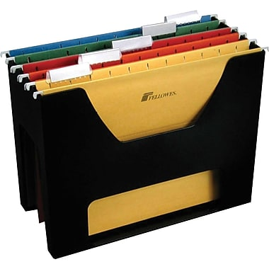 Fellowes® Desktoppers® File Holder, Letter Size, Black (FEL00534)