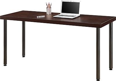 Staples® Integrate Commercial Desk, Cherry