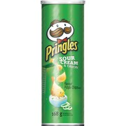 Pringles® Flavour Potato Chips, Sour Cream & Onion Flavour, 168 g