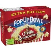 Orville Redenbacher's® – Maïs soufflé au micro-ondes, bol à éclater Pop Up Bowl™, saveur de beurre extra