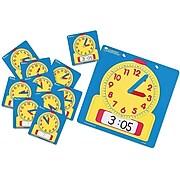 Learning Resources Write - On/Wipe - Off Clock Classroom Set, Grades Preschool - 9 (LER0575)