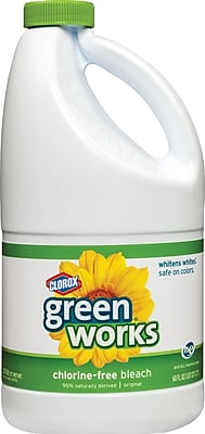 Clorox® Green Works® Non-Chlorine Bleach, Unscented, 60 oz