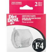 Dirt DevilMD ® Filtres standard de type F4, paq./2