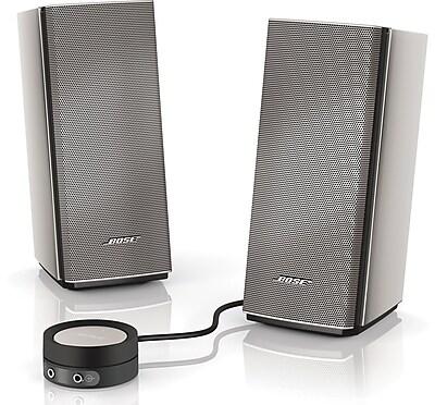 Bose® Companion® 20 Multimedia Speaker System, Silver