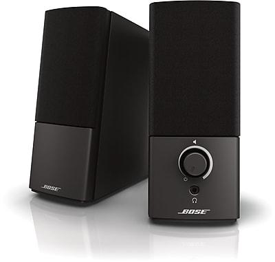 Bose® Companion® 2 Series III Multimedia Speaker System, Black
