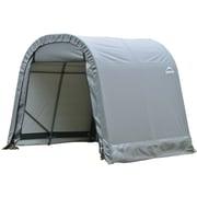 ShelterLogic® Round Style Cover Shelter, 8' x 8' x 8', Grey