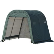 ShelterLogic® Round Top Shed Storage Shelter, 8' x 8' x 8', Green
