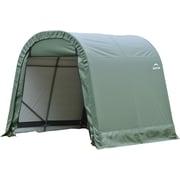 ShelterLogic® Round Style Cover Shelter, 10' x 8' x 8', Green