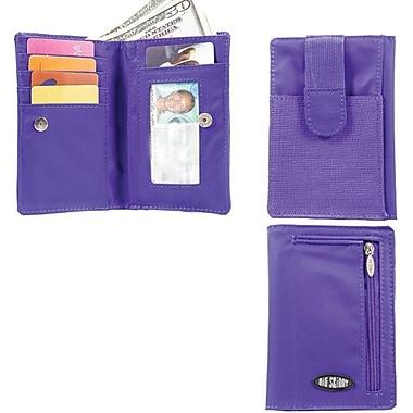 Big Skinny Nylon Microfiber myPhone Wallet in Electric Purple