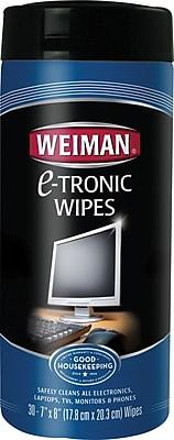 Weiman® e-Tronic Electronics Wipes, 30 Wipes/Pk