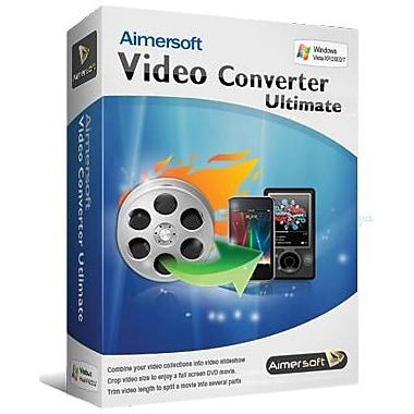 Aimersoft – Video Converter Ultimate pour Windows (1 utilisateur) [Téléchargement]