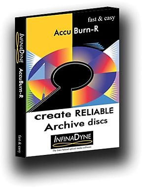 InfinaDyne AccuBurn-R for Windows (1 User) [Download] 271488