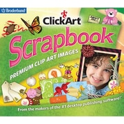 Broderbund ClickArt Scrapbook for Windows (1 User) [Download]