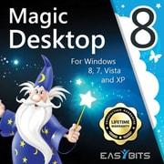 EasyBits – Magic Desktop 8, licence de 1 an pour 3 ordinateurs, pour Windows (1 à 3 utilisateurs) [Téléchargement]
